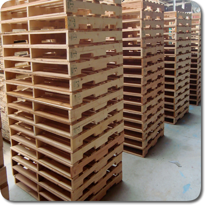 Tarima de madera seminueva reciclada para exportacion - Precio tarima madera ...